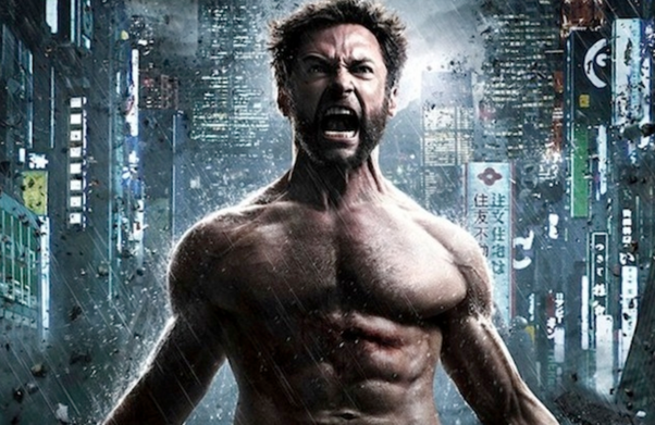 A Picture Of Movie Wolverine Being Angry In Tokyo Maybe Hes Frustrated Because He Doesnt Know How To Say I Need Shirt Wheres The Nearest