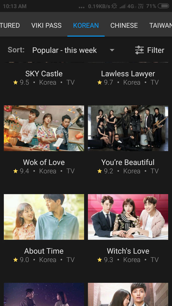 Which kdrama app is better, Viki or Viu? - Quora