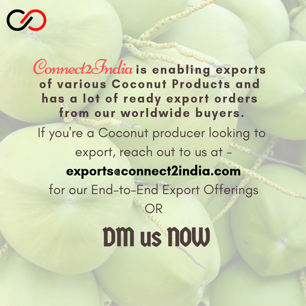 How to do coconut oil export business from India to other