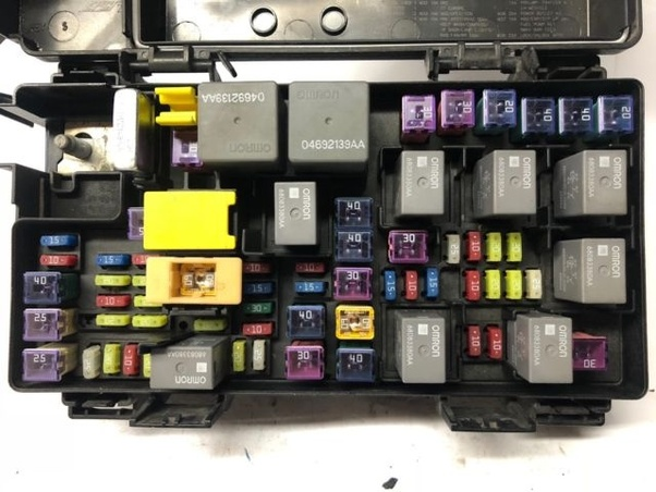 Where would the relays be found in a 2010 Dodge Grand Caravan? - QuoraQuora