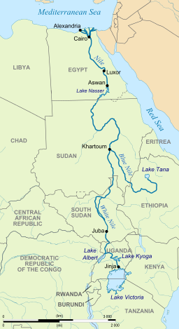 What Is The Longest River In Africa Quora - African rivers by length
