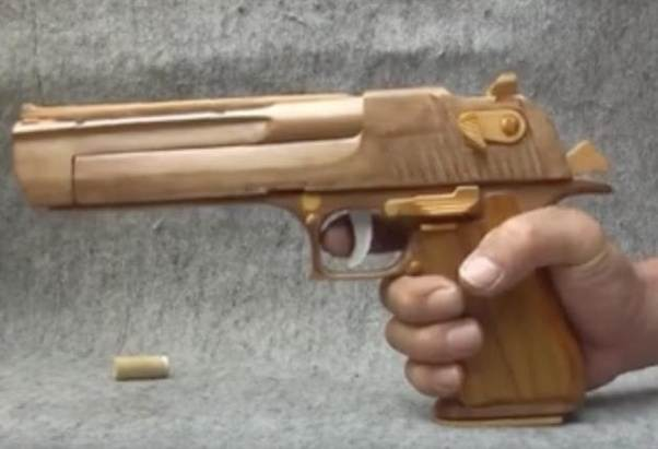 Guns That Are Made Completely Out Of Wood Were Never Good