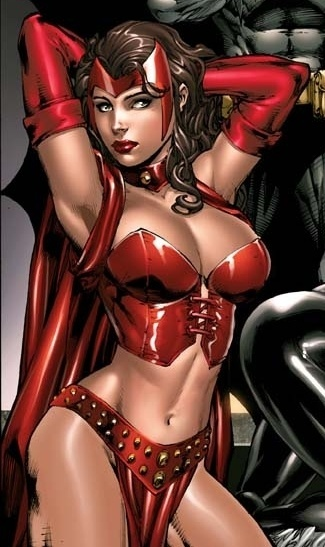 Who are the 10 hottest female heroines in DC and/or Marvel