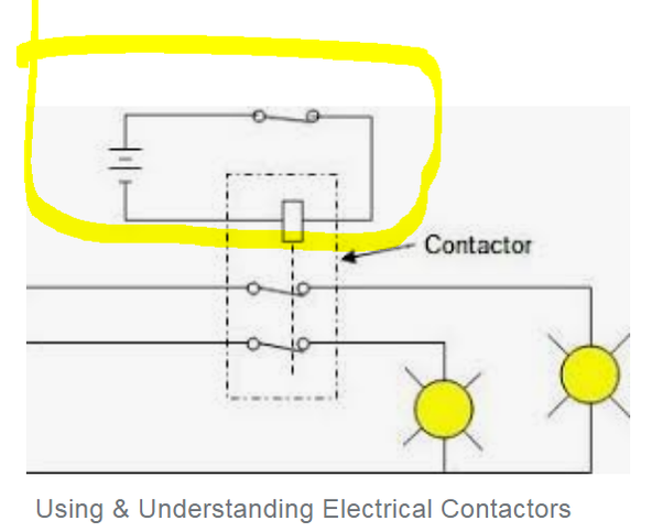 A Lighting Contactor Wiring