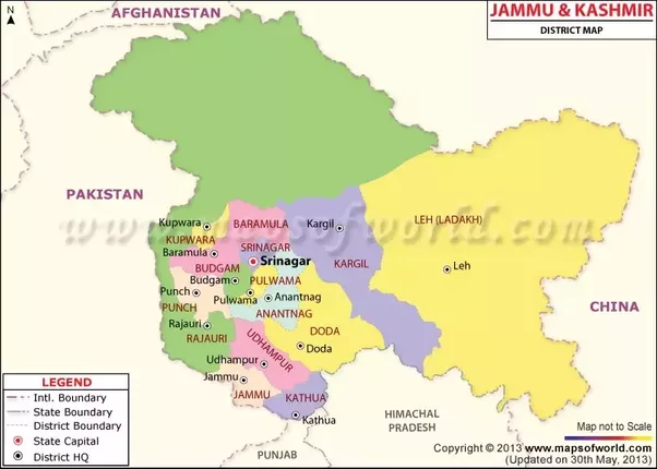Does india share its land boundary with afghanistan quora on top left north west you must have noticed that there is a small boundary between india and afghanistan so according to the land claimed by india gumiabroncs Image collections