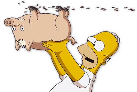 Where Did The Spider Pig Idea Come From In The Simpsons Movie Quora