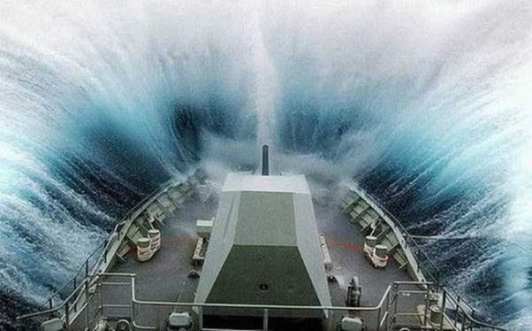 In Heavy Weather, The Prow Displaces The Water, And Helps To Prevent Water  Coming Over The Bow. Also, As The Ship Rolls, The Broader Beam Displaces  More ...