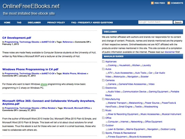 website recommendations where can i download free e books in pdf