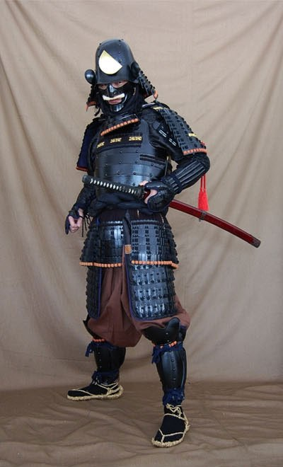 So Online Sources Suggest That High Ranking Samurai Could Wear Something Like This