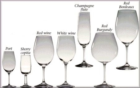 Difference Between Red Wine And White Wine Glasses