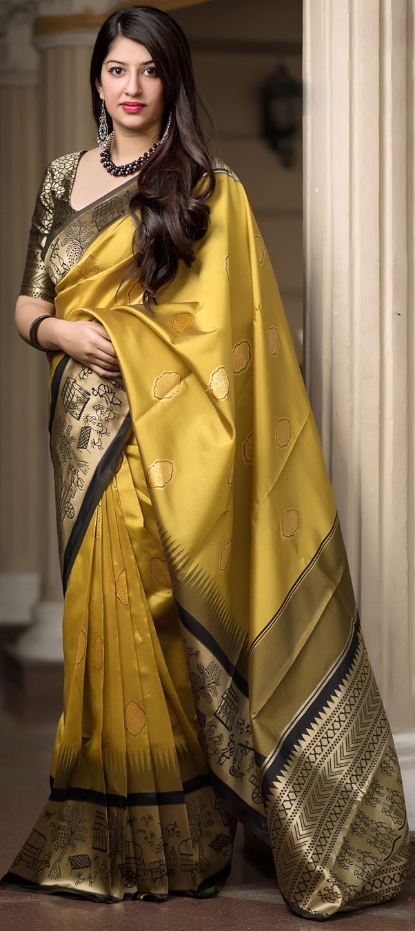 af12492a9d Kanjeevaram Silk Sarees: Kanchipuram is a small town near Bangalore. The  people here are experts in creating Silk Sarees masterpieces.