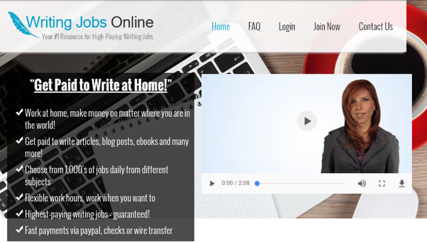 Which websites can I easily earn money online by writing