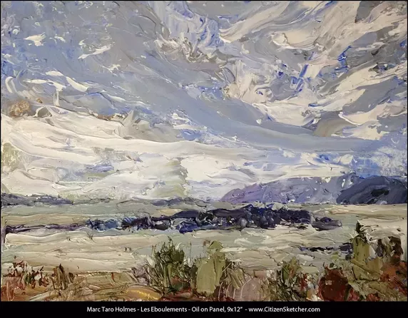 why do some artists use oil paint for palette knife painting instead