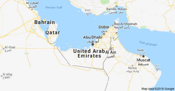 oman and saudi arabia see map below