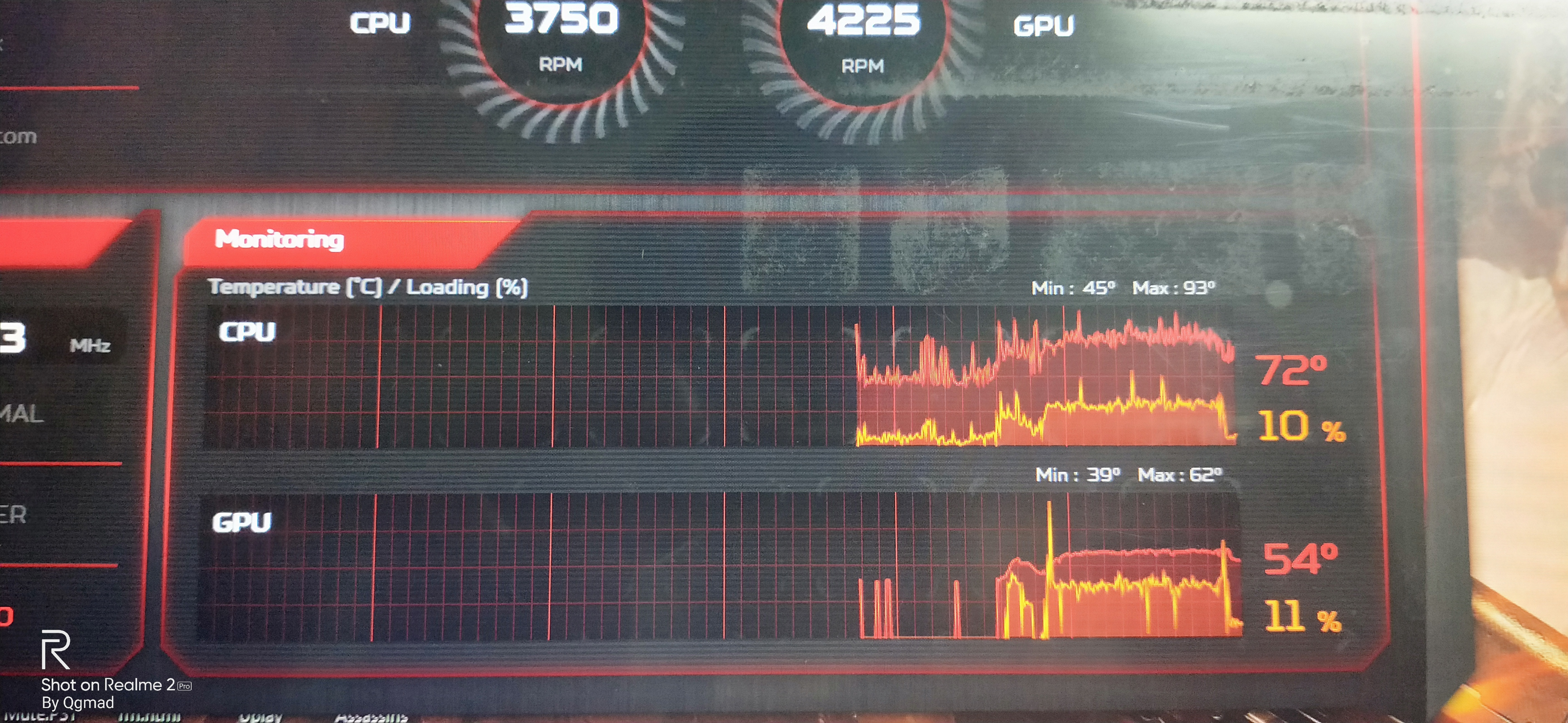 Does Acer Predator Helios 300 heat up during gaming for