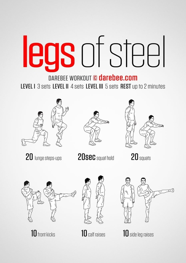 What are the best exercises that can tone lower body? - Quora