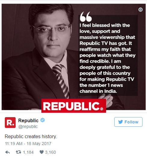 Is Republic TV a pure propaganda channel? - Quora