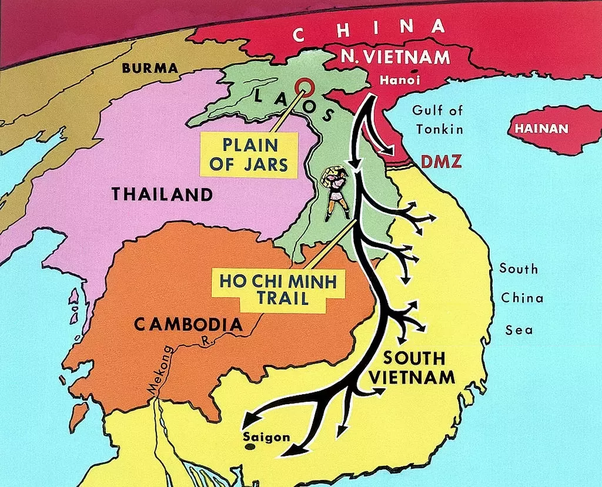 Why was the draft needed in order for the U.S. to fight in ... Dmz Map Military Of Vietnam on map korea dmz 1967 1968, map of vietnamese demilitarized zone, map of dmz korea,