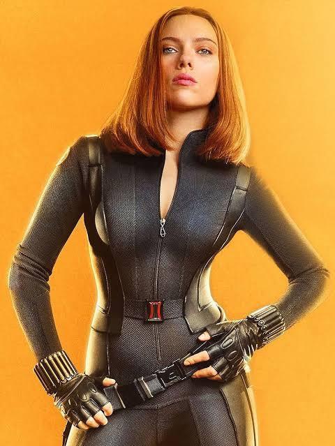 Romanoff hot agent MCU: Black