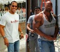 Is Dwayne 'The Rock' Johnson using steroids? - Quora