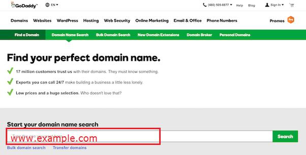 How to build websites with godaddy com - Quora