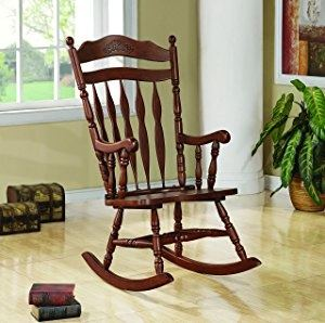 Favorite Features. The Coaster Rocking Chair ...