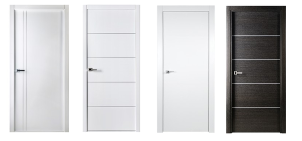 Flush doors have flat smooth surfaces that are typically painted or stained with wood stains. They are basically nondescript and as a result ...  sc 1 st  Quora & What type of interior doors are best? - Quora