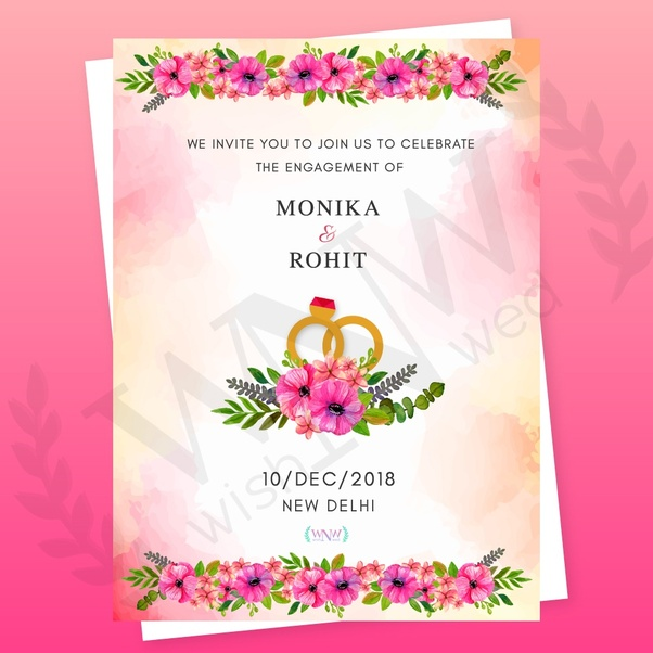 What Is A Unique Wedding Invitation Design Online In India