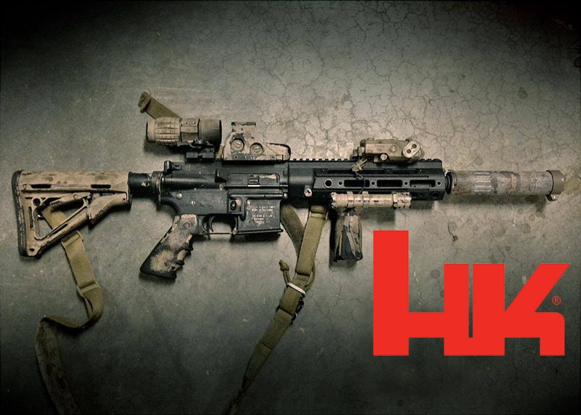 Is it possible to make an HK416 look like an M16A1? - Quora