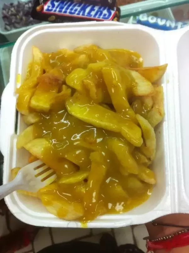 Do western people genuinely enjoy eating westernized foods more than chips and curry sauce see what i said about authenticity above this isnt a chinese food but it sure does taste good and its sold in chinese takeaways forumfinder Choice Image