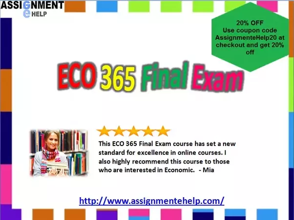 What study material can help me to learn about eco 365 final exam candidates shop online eco 365 final exam questions answers for better preparation details for syllabus is given here fandeluxe Choice Image
