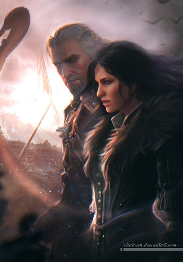In The Witcher 3, who do you like more  Triss or Yennefer? - Quora