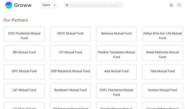Which way is better to invest in mutual funds zerodha or groww or groww offers more than 5000 mutual funds that you can invest in all on one platform no need to visit individual amc websites solutioingenieria Images