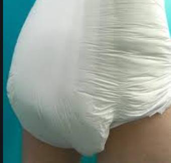 Lift Legs Diaper Plastic Panties