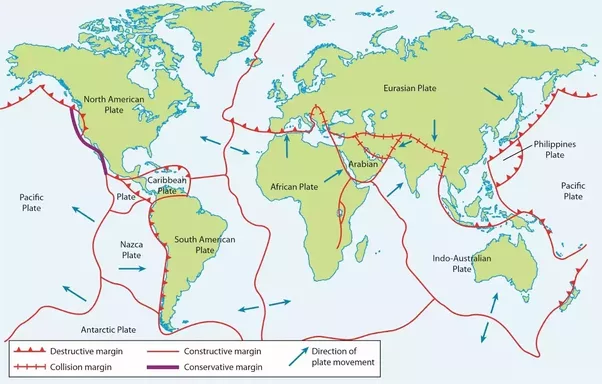 15 major tectonic plates and their boundaries in dating