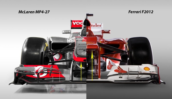 Why Have F1 Cars Noses Been Dipping Down Lower And Lower From About 1997 To Now Is This An Effort To Reduce Air Under The Car Ground Effect Quora