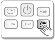 What's the mechanism of the auto-clean function in an air