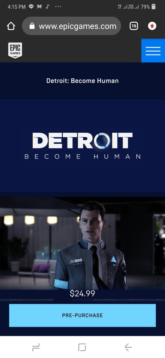 Is there any way (by any means) to get to play Detroit