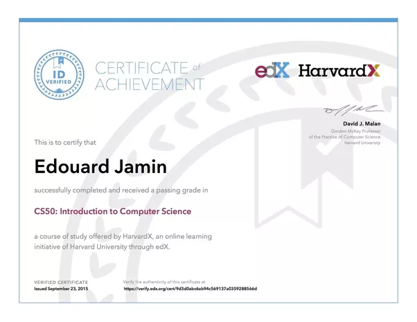 what does a harvard extension school degree certificate looks like ...
