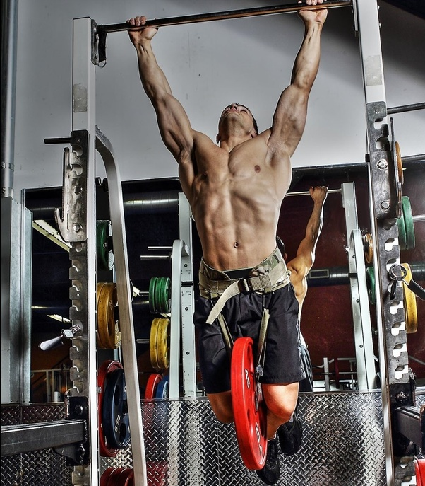 Image result for weighted pull ups