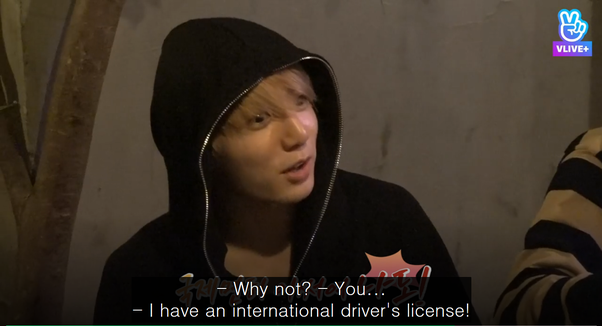 Do the actual members of BTS ever drive themselves or the