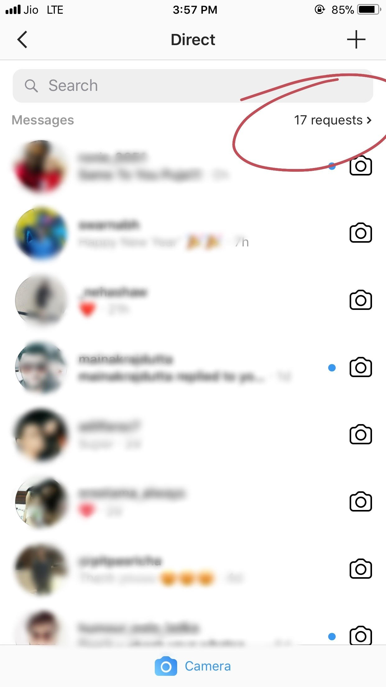 will people see if i ve read their instagram requested dm in the corner of the messages page it says one request and it says accept or decline when you go on it If You Direct Message Someone On Instagram Who Isn T Following You Back Will They Get The Notification On Their Phone Quora