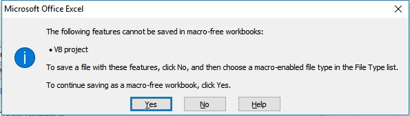 How to save VBA code in excel - Quora