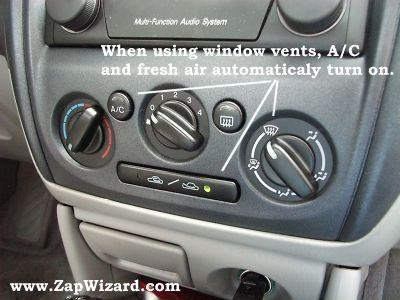 how to clean the inside of car windows