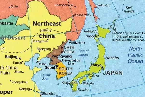 Why didnt china have any military base in north korea as usa did second kim il sung was very worried about the chines influence at the end of korean war there were more than 15 million chinese troops in nk while the sciox Choice Image