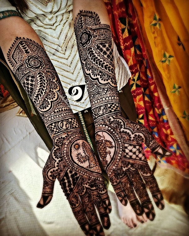 c90e35d1034 Great love stories turned to beautiful bridal mehendi designs