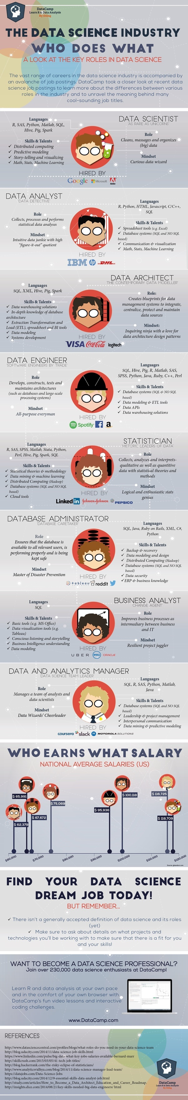The career opportunities in data science big