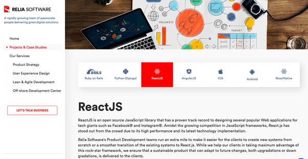 Which are the top 10 React js development companies in the UK? - Quora