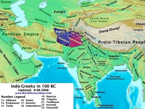 Where are the existing proof of greeks presence in india quora but for a while there was a city called alexandria on the indus as well as in egypt gumiabroncs Gallery