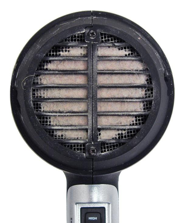 hair dryer burning smell
